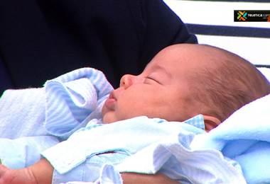 Josue Villareal Alfaro bebé de Thais Alfaro