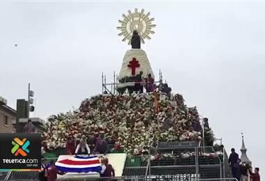 Costa Rica fue el invitado especial de las fiestas de la virgen del Pilar en Zaragoza, España