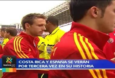 Costa Rica - España Tercer Round