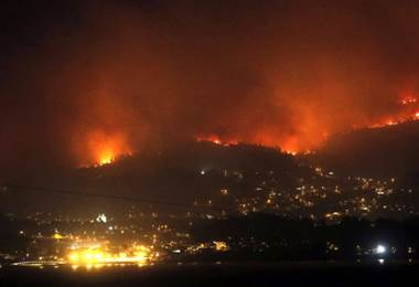 Incendios  en España y Portugal
