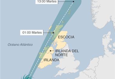 Ophelia, huracán del Atlántico