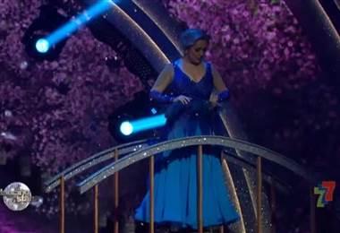 Sexta Presentación Marcela Ugalde bailó vals en Dancing With The Stars