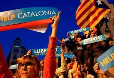 Crisis entre el gobierno de Cataluña y España