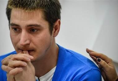 Maxim Lapunov dice que pasó 12 días en una celda
