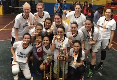 Goicoechea se coronó campeón nacional del baloncesto femenino