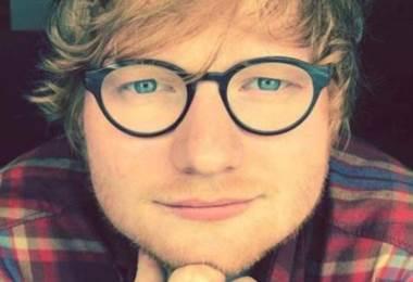 Ed Sheeran cantante británico