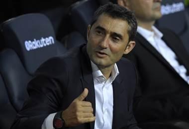 Ernesto Valverde, técnico del FC Barcelona |Archivo.