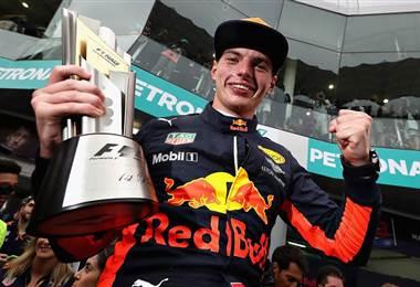 Max Verstappen, piloto holandés de la escudería Red Bull.