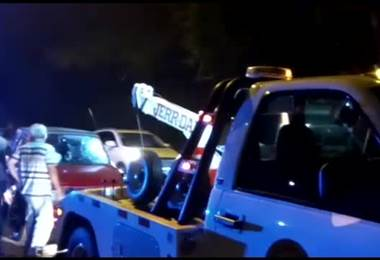 Pareja herida de gravedad tras colisionar motocicleta contra vehículo en Montes de Oca