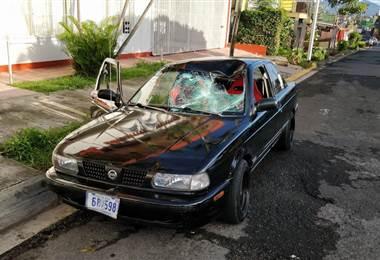 Atropello en Zapote