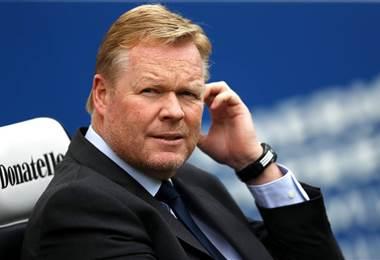 Ronald Koeman fue despedido como técnico del Everton.
