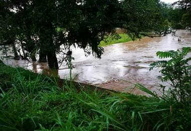 Inundaciones en Upala