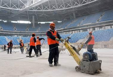 Rusia realizó una gran inversión en los estadio de fútbol |Archivo.