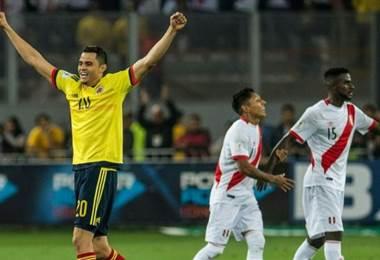 Todos contentos en Lima tras confirmarse el empate que clasificaba a Colombia y dejaba a Perú en el repechaje contra Nueva Zelanda.
