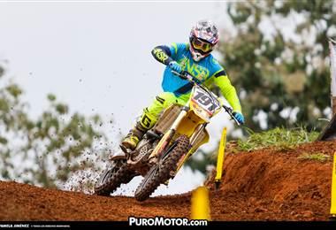Roberto Castro se impone en el Campeonato Nacional de Motocross.|Pamela Jiménez / Puro Motor