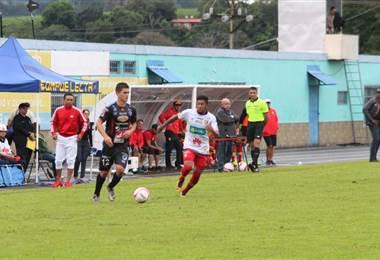 José Guillermo Ortiz anotó el único tanto del Herediano ante Grecia.