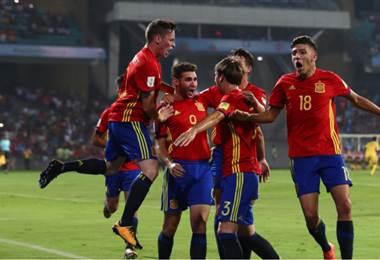 España derrotó a Mali y se clasificó a la final del Mundial Sub-17.