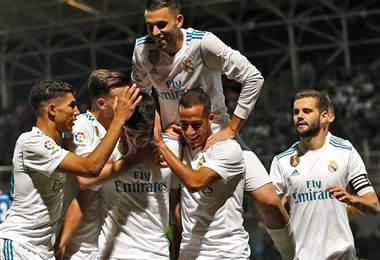 Real Madrid gana 2-0 en Fuenlabrada y pone un pie en octavos de Copa