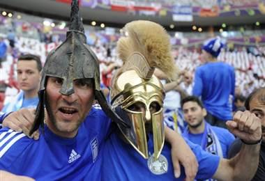 Aficionados de la Selección de Grecia |Archivo.