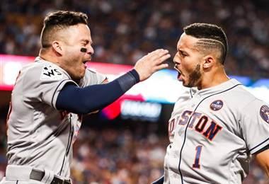 Astros de Houston empataron la Serie Mundial ante los Dodgers.