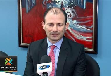 Gustavo Picado, gerente financiero de la Caja Costarricense de Seguro Social (CCSS).