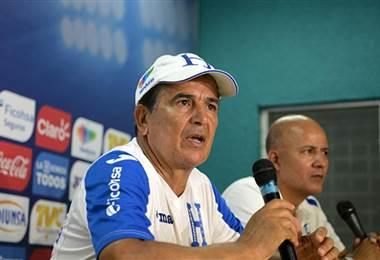 Jorge Luis Pinto, técnico de la Selección de Honduras.