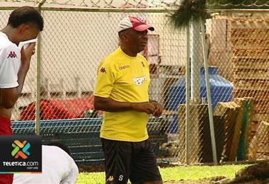 Carlos Watson, técnico del Deportivo Saprissa.