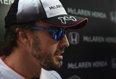 El piloto español de Fórmula 1, Fernando Alonso.