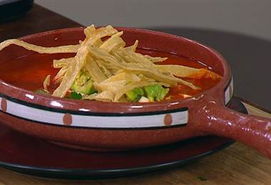 Receta: Sopa Azteca