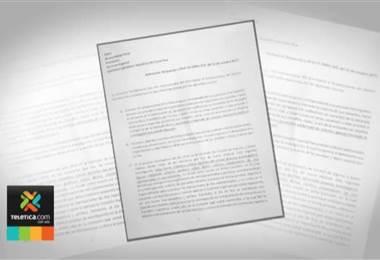 Juan Carlos Bolaños se negó a abrir sus cuentas bancarias a diputados por caso de cemento chino