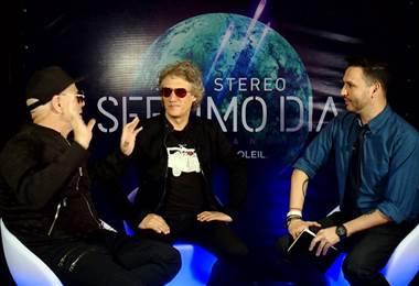 Integrantes de Soda Stereo nos hablan sobre su Sép7imo día, no descansaré