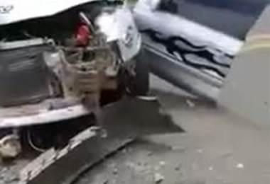 Video tomado del sitio de Facebook: Accidentes de CR.