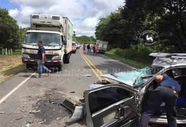 Fotografía tomada del sitio de Facebook: Accidentes de CR.
