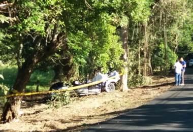 Seis personas mueren en violento accidente de tránsito en Guanacaste