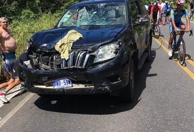 Seis ciclistas atropellados en Guanacaste