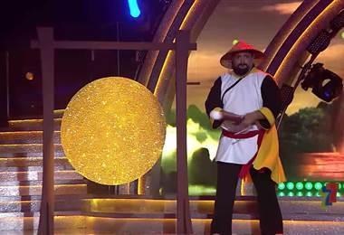 Gustavo Gamboa y Alhanna Morales, Gala 7
