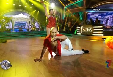 La chef Sophía cierra la gala 8 de Dancing With The Stars con una samba
