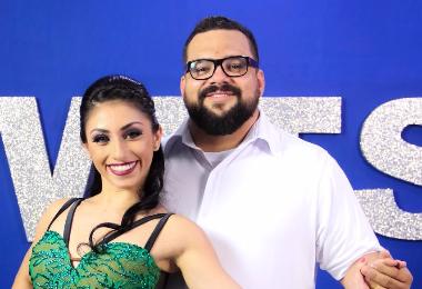 Gustavo Gamboa y Alhanna Morales, Gala 8