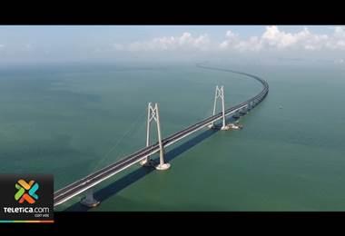 Puente marítimo más largo del mundo ya es una realidad en China