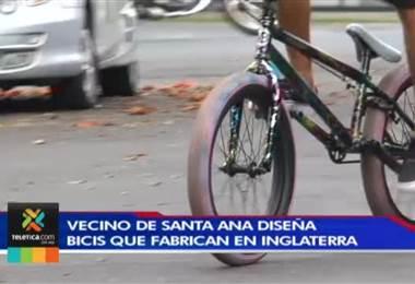 Vecino de Santa Ana diseña bicis que fabrican en Inglaterra