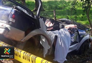 Conductor del vehículo donde murieron 5 personas en Abangares iba bajo los efectos del licor