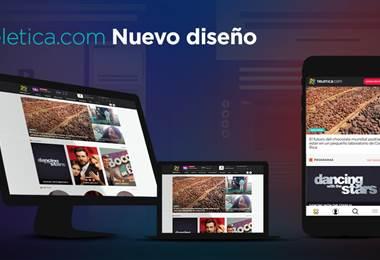 Lanzamiento Teletica.com - Nuevo Diseño