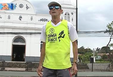 Don Manuel se convirtió en el rey del ejercicio
