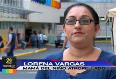 Cámara captó atropello que sufrió niño de 11 años por motociclista