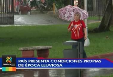 País regresa a las condiciones propias de la época de lluvia