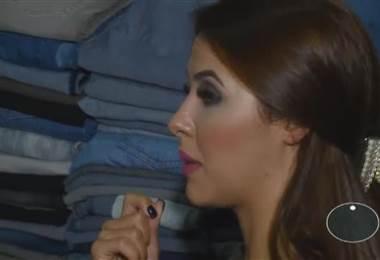 Presentadora Keyla Sánchez muestra su guardarropa