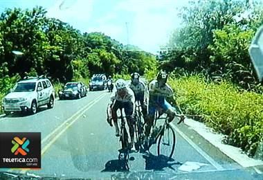 Organización de carrera ciclística culpa a conductor de atropellar a ciclistas en Guanacaste