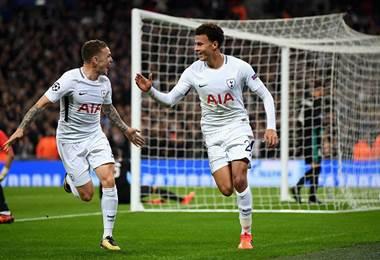 Dele Alli abrió el marcador para el equipo del Tottenham.