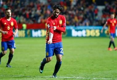 'Isco' Alarcón, futbolista español del Real Madrid.