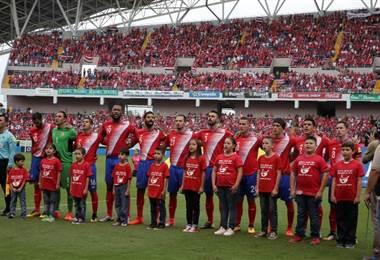 Selección de Costa Rica |Archivo.